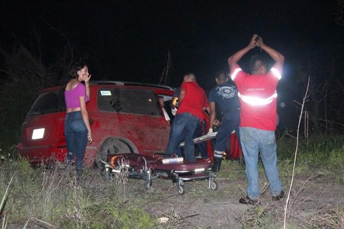 Personal de la Policía Federal División Camino realizaron el peritaje y trasladaron el vehículo a un corralón oficial