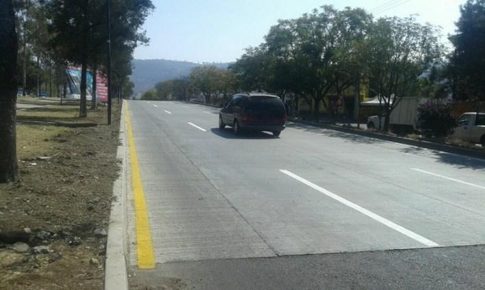 Aun cuando la atención de las calles anteriormente descritas son responsabilidad de la autoridad municipal, el Gobierno del Estado ha ejecutado las acciones mencionadas para contribuir a la atención de los requerimientos más sentidos de la población en materia de infraestructura vial