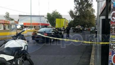 Autoridades policiacas realizaron un operativo en la zona, ya que testigos indicaron que el agresor se había dado a la fuga a pie, pero sin resultados positivos
