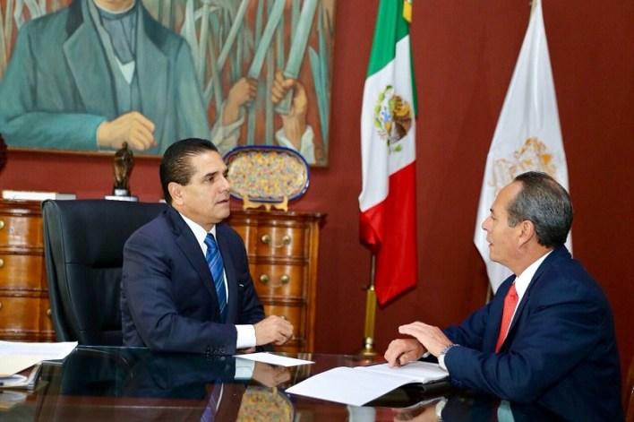 En Casa de Gobierno, el titular del Ejecutivo en Michoacán consideró que la labor que realiza la ASM es fundamental para consolidar la confianza en las instituciones públicas