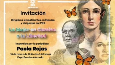 """La Conferencia """"La Mujer en Busca de la Libertad"""", estará a cargo de la periodista Paola Rojas y será realizado este 10 de marzo en Expo Eventos Alameda a las 9:30 horas, dirigido a simpatizantes, militantes y dirigentes de este instituto político"""
