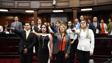 Se concedió licencia por tiempo indefinido a partir del día 29 de marzo al diputado Antonio García Conejo, tomará protesta en la próxima sesión Cecilia Lazo de la Vega