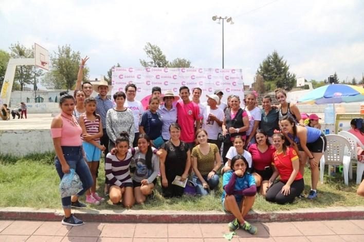 Luisa María Calderón refrendó su compromiso para fomentar la cultura de la paz y legalidad así como incentivar la participación ciudadana