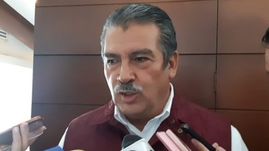 Los michoacanos merecen votar en paz: Raúl Morón (FOTO: SEBASTIÁN CASIMIRO)