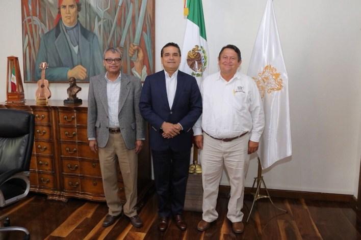 El encuentro, realizado en un marco de apertura y respeto, forma parte de la política de diálogo por parte del Ejecutivo Estatal con todos los sectores para la búsqueda de acuerdos en favor de Michoacán