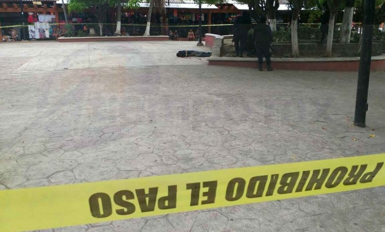 El hecho ocurrió ante gran cantidad de comerciantes y turistas que se encontraban en dicha plaza, por lo que elementos de la Policía Municipal y Estatal hicieron un operativo, pero sin resultados positivos