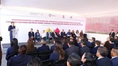 Aureoles Conejo anunció que destinará un millón y medio de pesos de su Despacho para concluir las acciones en el Centro de Justicia Integral para las Mujeres