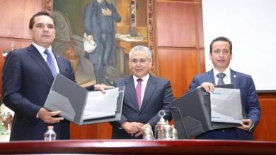 Flores Negrete compartió que en el último año se concluyeron 95 mil 65 asuntos en las distintas instancias judiciales y agradeció al titular del Ejecutivo Estatal por el respaldo durante su mandato como Presidente