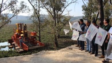 """Luna García informó que se cuenta con un espacio aproximado de 7 hectáreas en el Área Natural Protegida """"Piedra el Indio"""" a 8 kilómetros de la presa, donde será depositado"""