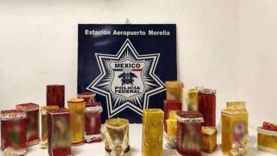 Los objetos asegurados, fueron puestos a disposición del agente del Ministerio Público de la Federación, quienes darán seguimiento a las investigaciones