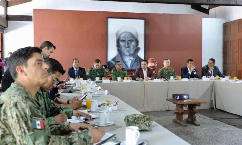 Fortalecer la estrategia conjunta, clave para avanzar en seguridad, afirma el gobernador de Michoacán