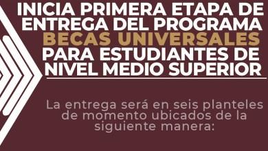 """El programa de Becas para el Bienestar """"Benito Juárez"""" en la Educación Media Superior, dará apoyo económico a los estudiantes que estén cursando el bachillerato en una escuela pública para abatir la deserción escolar"""