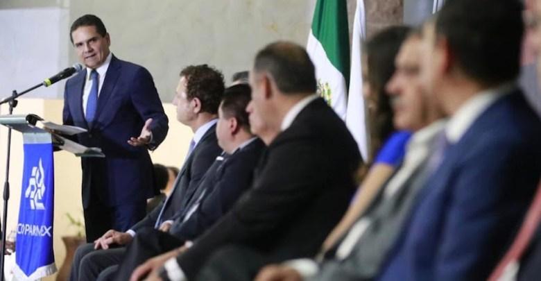 El gobernador asiste a la toma de protesta del nuevo Consejo Directivo de Coparmex Michoacán 2019-2020