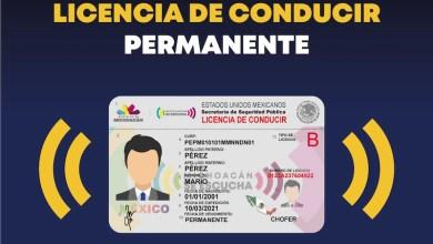 licencia de conducir permanente