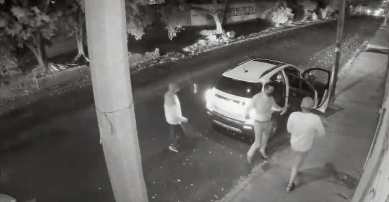 robo de vehículos, video, Morelia, Prados Verdes