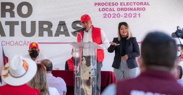 Raúl Morón, Morena, PT