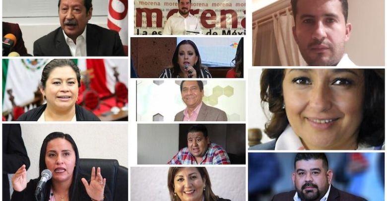Los suspirantes, Juntos Haremos Historia, Morena,PT