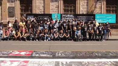 artistas, mural, Morelia