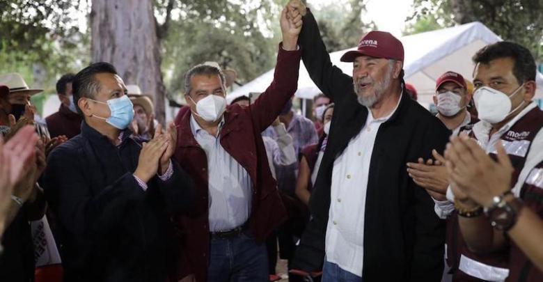 Raúl Morón, Gerardo Fernández Noroña