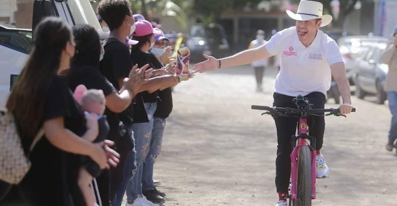 Carlos Herrera Tello, bicicleta