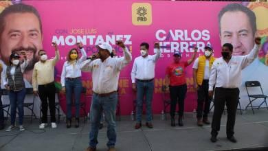 José Luis Montañez, campaña, PRD