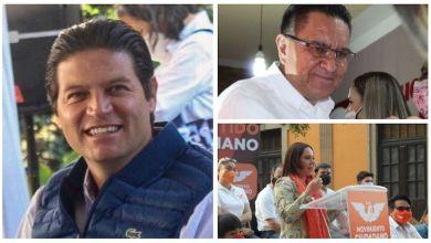 Alfonso Martínez, Miguel García Meza, Vanina Hernández