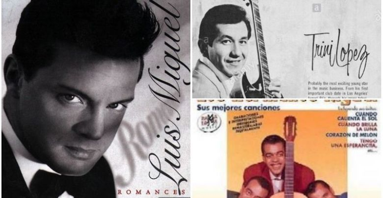 Luis Miguel, Trini López, Los Hermanos Rigual