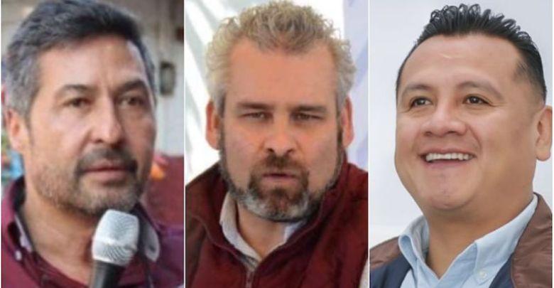 Víctor Báez Ceja, Alfredo Ramírez Bedolla, Carlos Torres Piña