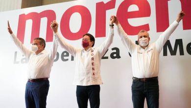 Raúl Morón,Mario Delgado, Alfredo Ramírez Bedolla
