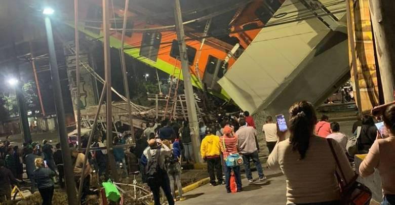 Línea 12 del Metro, accidente