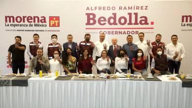 Alfredo Ramírez Bedolla, Equipo de Campaña