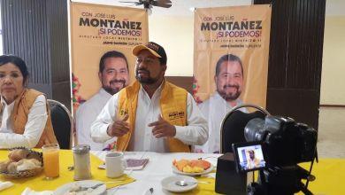 José Luis Montañez, PRD