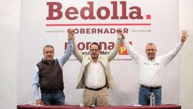 Raúl Morón, Claudio Méndez, Alfredo Ramírez Bedolla