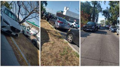 mal estacionados, Plaza U