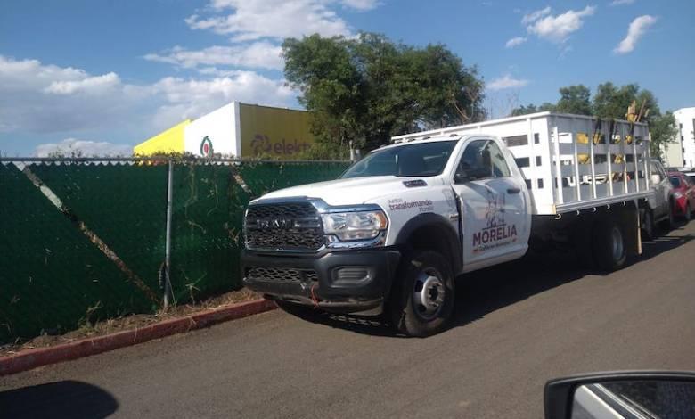 camioneta oficial, Morelia