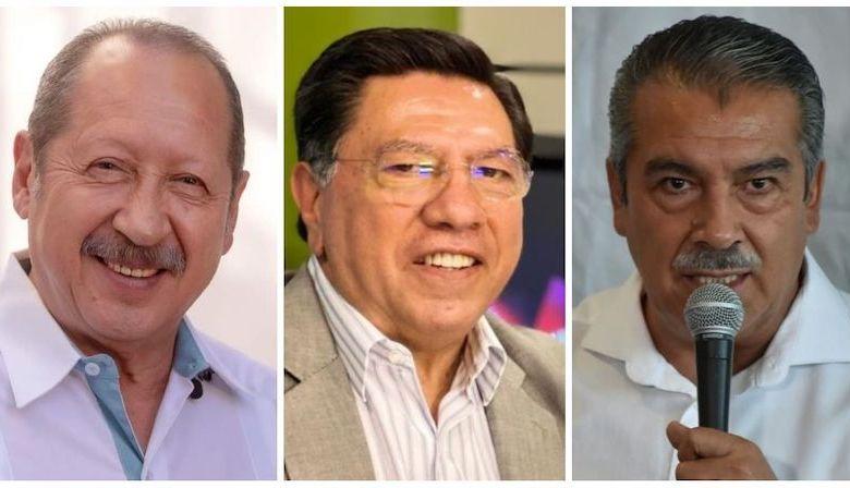 Leonel Godoy, Jesús Reyna, Raúl Morón