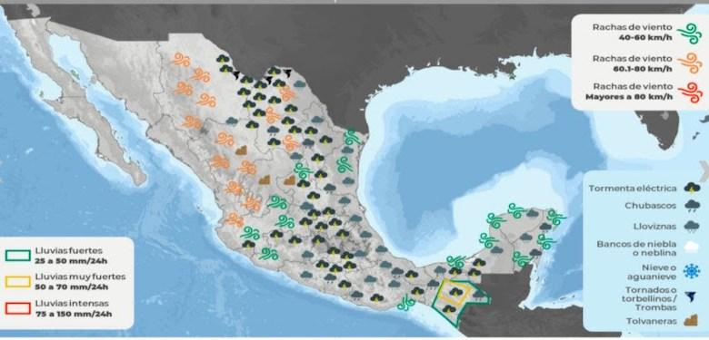 clima México, SMN