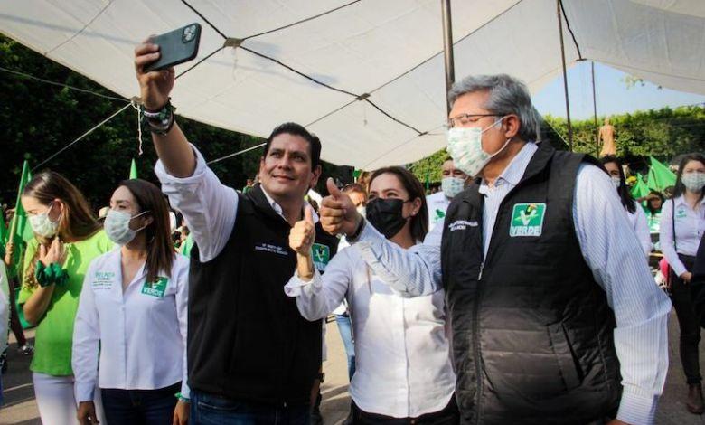 Ernesto Núñez, Karen Castrejón, Juan Antonio Magaña