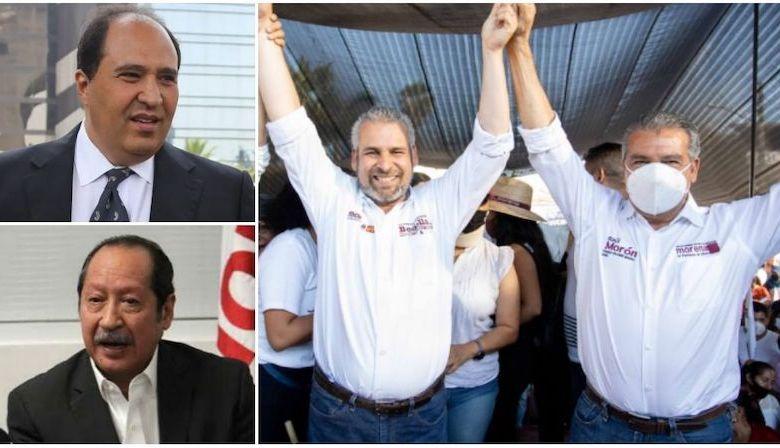 Lázaro Cárdenas Batel, Leonel Godoy, Alfredo Ramírez Bedolla, Raúl Morón