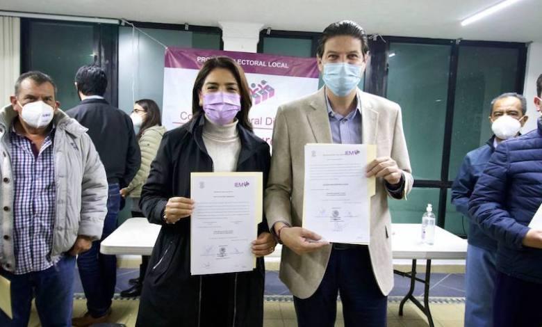Alfonso Martínez Alcázar, Melissa Vázquez Pérez