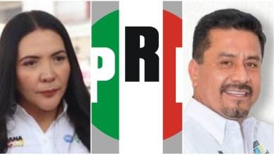 Los suspirantes, PRI, Adriana Campos Huirache, Roberto Carlos López García