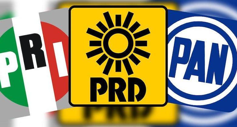 PRI, PRD, PAN