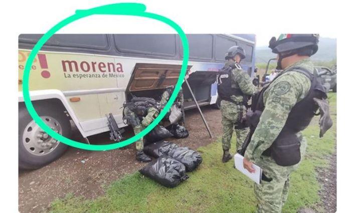 autobús, droga, Morena