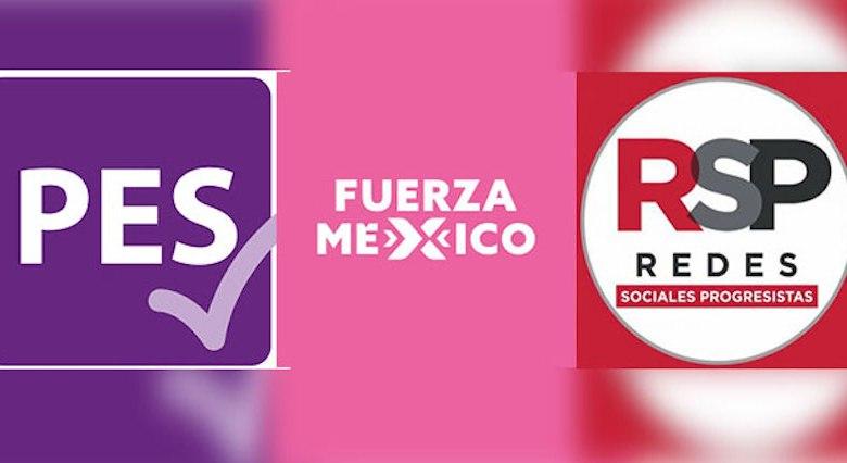 PES,Fuerza por México, RSP