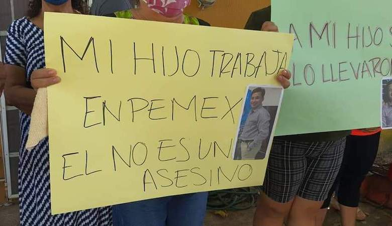 detenido, Pemex