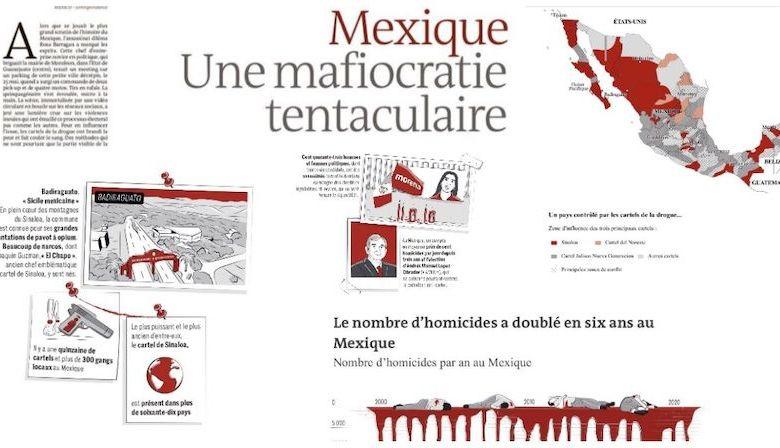 Le Monde, mafiocracia, México, Michoacán
