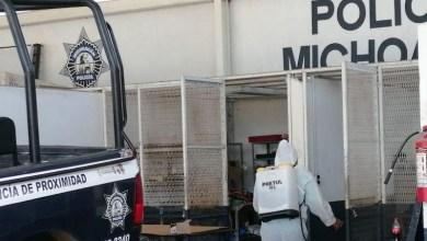 Policía Michoacán,SSP, COVID-19