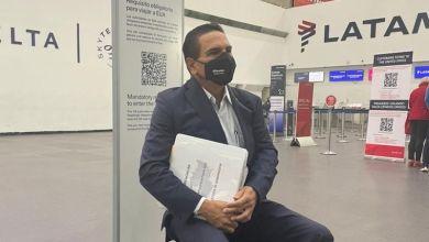 Silvano Aureoles,aeropuerto, denuncia