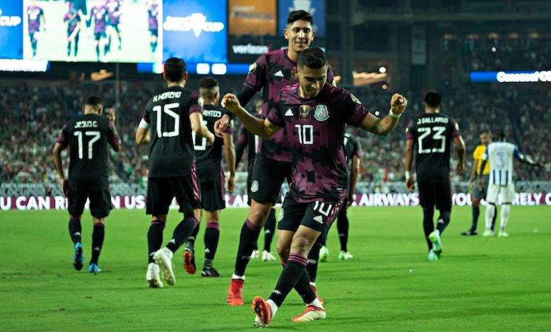 México vs. Homduras, Orbelín Pineda