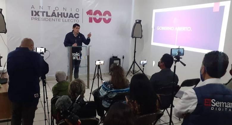 Toño Ixtláhuac, Antonio Ixtláhuac,Gobierno Abierto